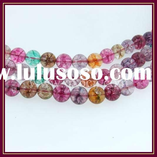 8mm tourmaline round gemstone beads