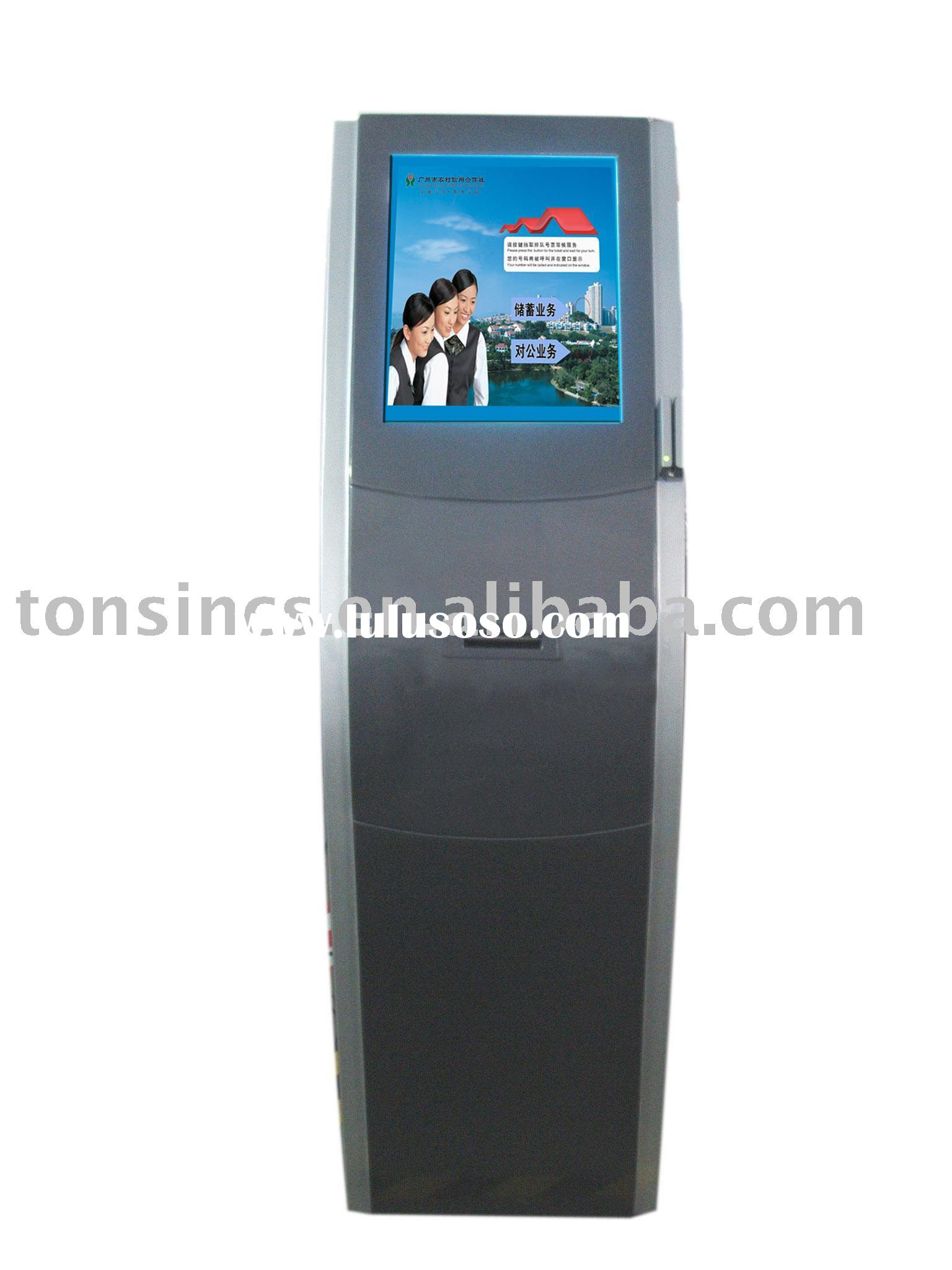 Guangzhou Internet Bank/Shopping Mall/etc Payment and Information Touch Kiosk