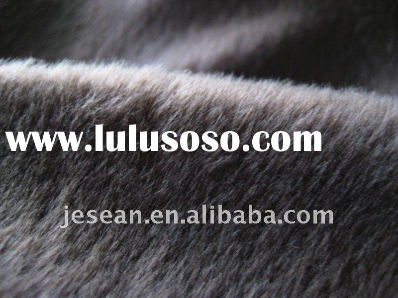 100% polyester super soft velvet plush microfiber fabric