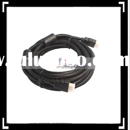 10FT High Speed HDMI Cable With Ethernet Black