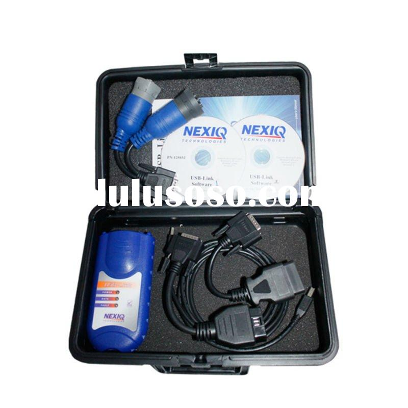 2011 Newest NEXIQ 125032 USB Link + Software Diesel Truck auto diagnostic tool with best price