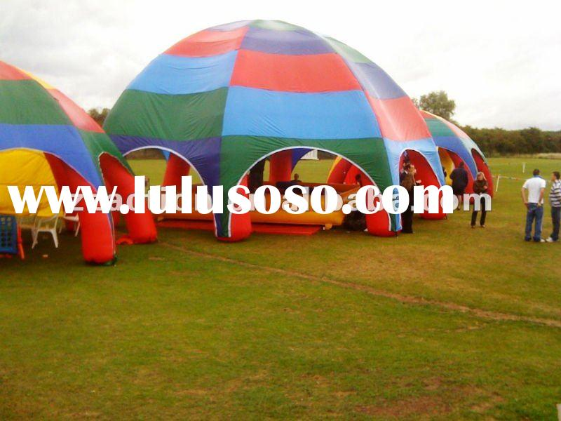 2012 hot selling outdoor advertising inflatable tent canopy