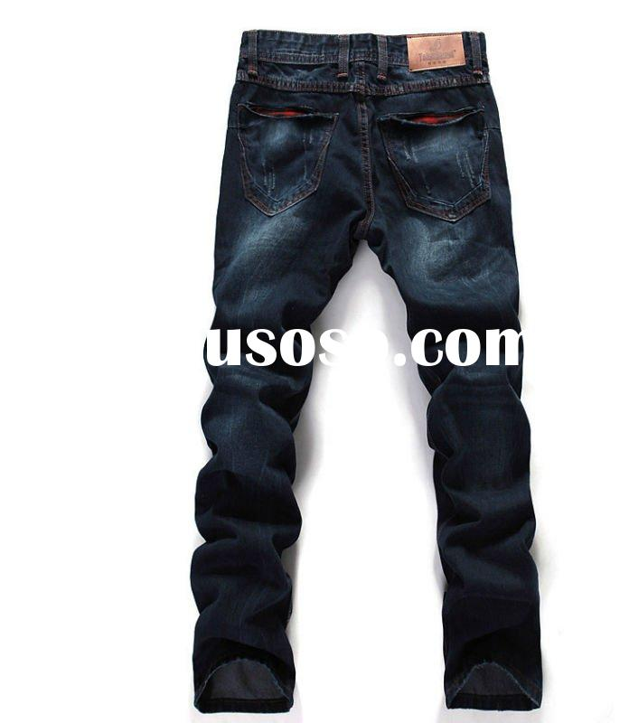 2012 new five pockets fashion style hot sell men jeans
