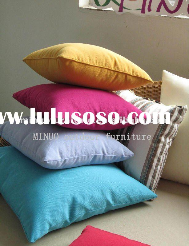 2012 promotional waterproof polyester fabric / patio sofa cushions