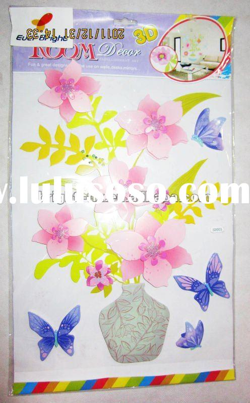 3d wall paper(self adhesive wall paper)/room decor