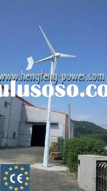 3kw wind turbine generator,permanent magnetic generator,horizontal axis ,direct drive,green power en