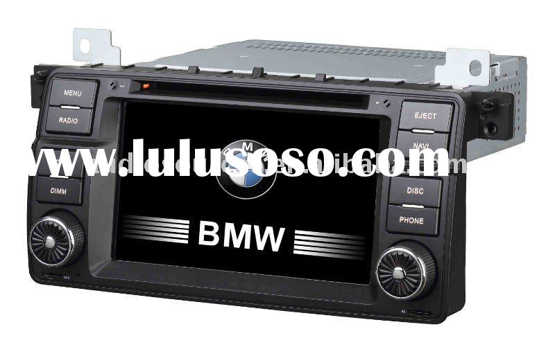 """7"""" LCD touch screen car tv dvd for BMW E46 with RATIO,TMC,can-bus"""