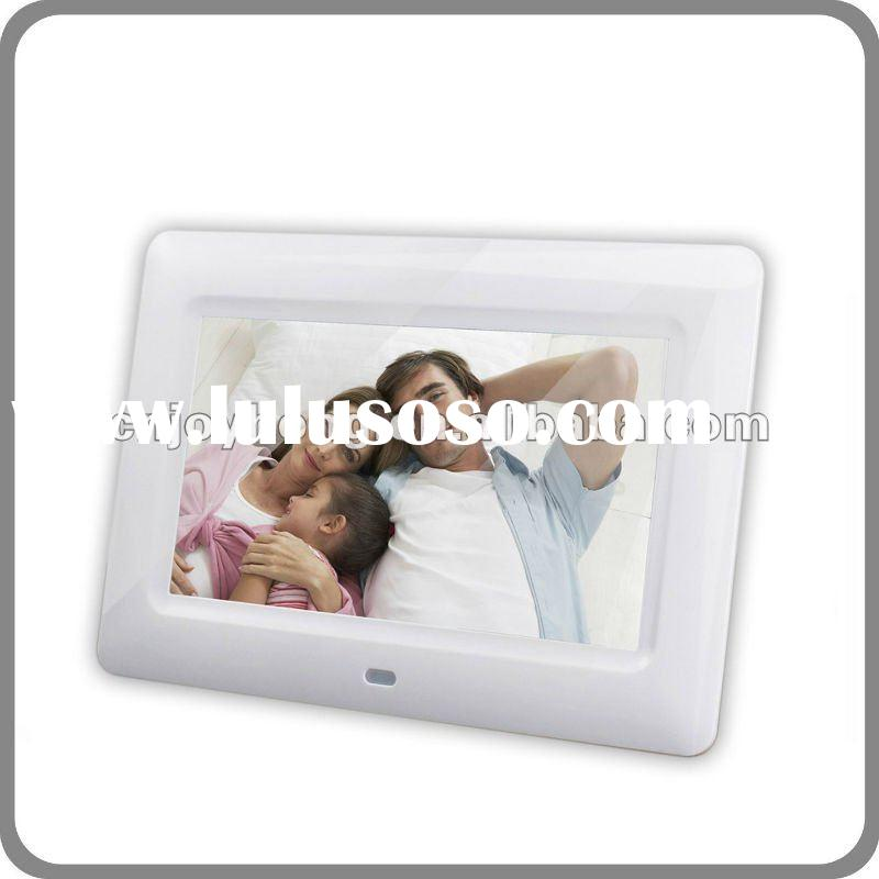 7 inch full function digital photo frame(DPF) cheap price