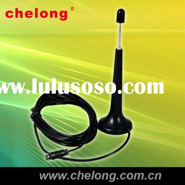 ATSC TV Television car antenna amplifier with Magnetic Base(CL-AST-001)