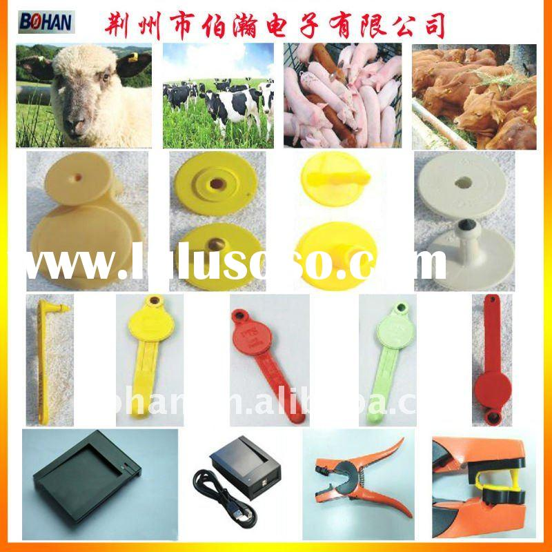 Animal RFID Tags, Made of APET, Includes Glass Tube, Pigeon Ring and Ear Tag