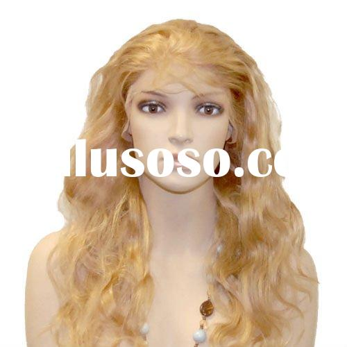 Charming body wave Indian human hair wig