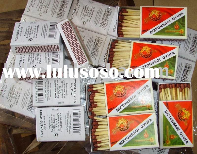 China daily used goods high quality safety match