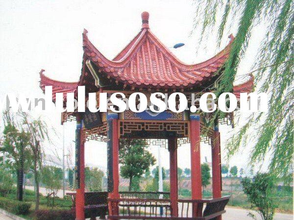 Chinese classical roofing tiles for garden pavilion