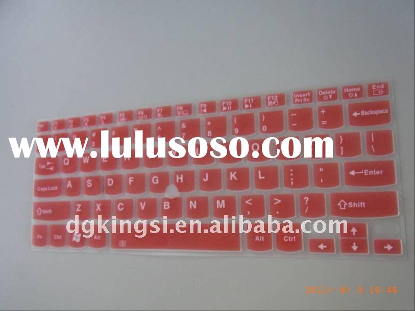 Clear and colorful laptop keyboard cover