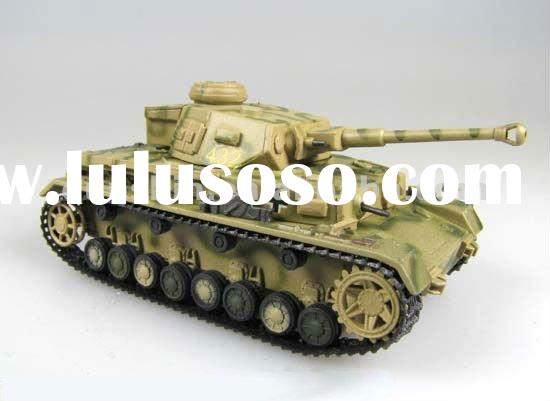 Collectable metal tank model 1:72 scale - Pz.IV Ausf F2