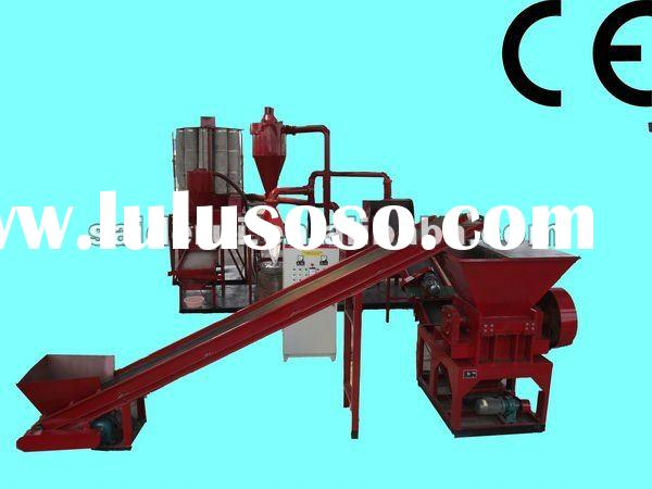 Copper Wire Recycling System, waste cable processing recycling machine,Cable Granulation and separat