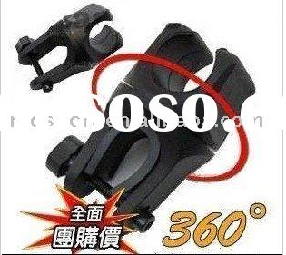 Cycling Lamp holder/ engineering plastics Lamp clips/ light clips with antiskid gaskets