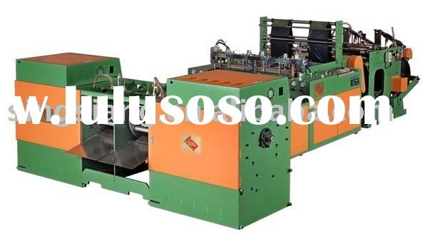 Dual Servo Motor Driven High Speed 2 line Full Automatic Coreless Star-sealed Garbage Bag On Roll Ma