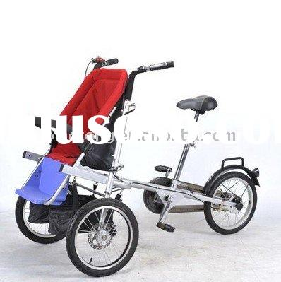 Folding child carrier baby bike stroller bicycle