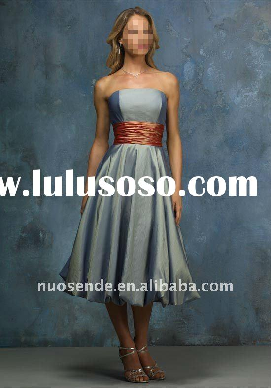 Free Shipping Gade 9 Prom Dresses Gadguation Dresses 4 11 Year Olds Gaduation Dress 2011 Baby Blue