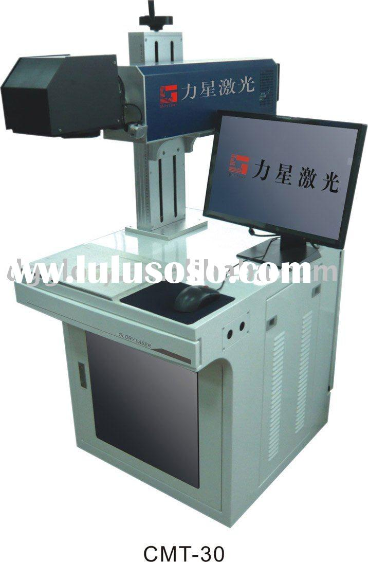 GLORYSTAR CO2 Metal Tube Laser Marking Machine for leather