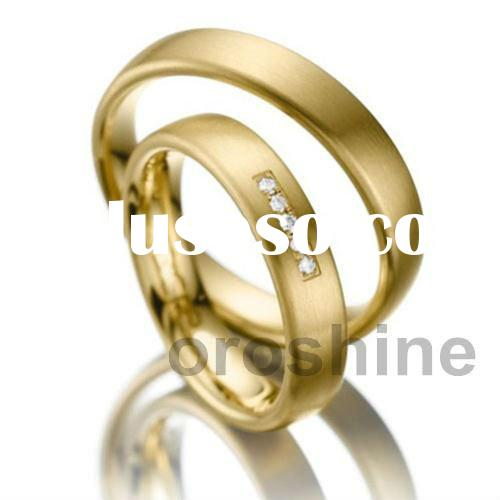 GR12356-yellow gold ring