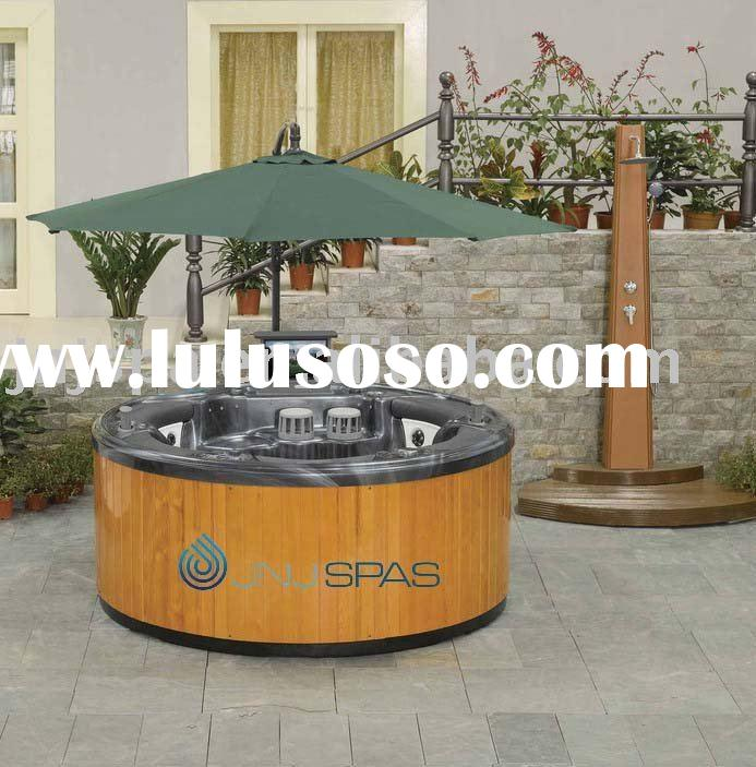 round outdoor spa for sale price china manufacturer supplier 1424146. Black Bedroom Furniture Sets. Home Design Ideas
