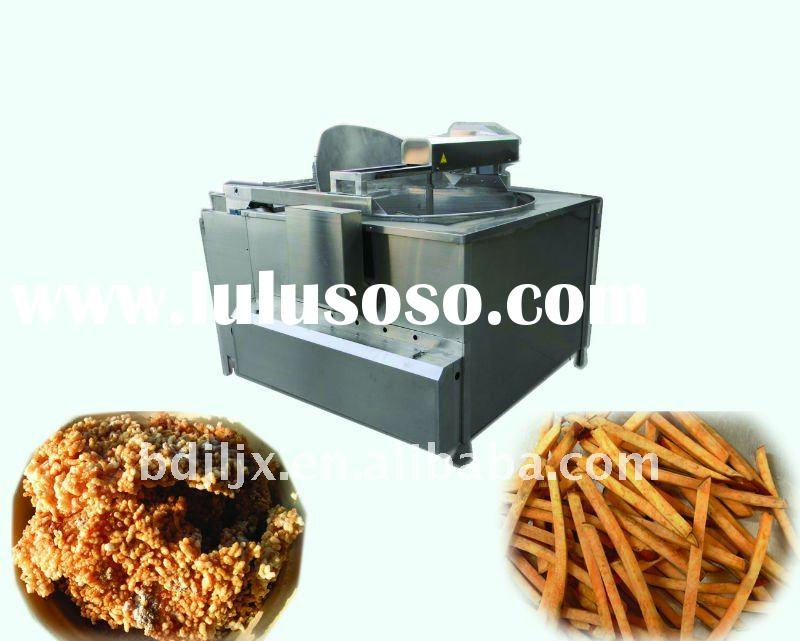Gas-fired Cyclic Filter Deep Fryer Machine