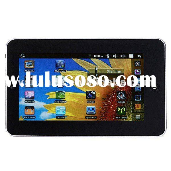 Hot 7 inch resitive touch screen tablet pc build in 3G wifi
