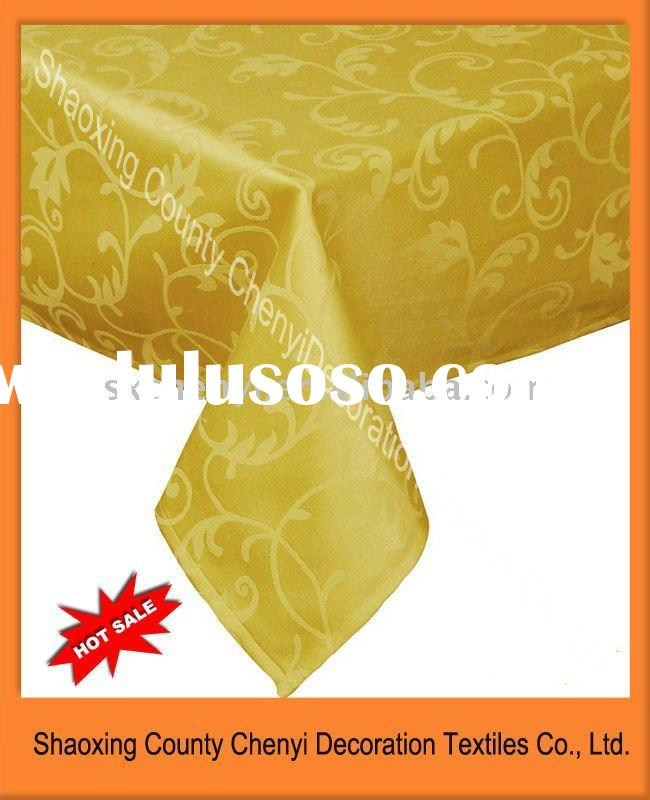 Hot sale Polyester cotton stretch table cover