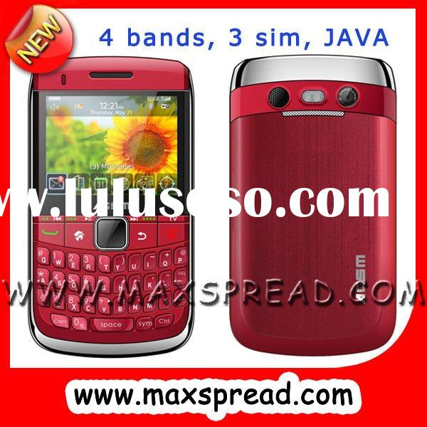 Hot selling 4 sim cell tv cellular
