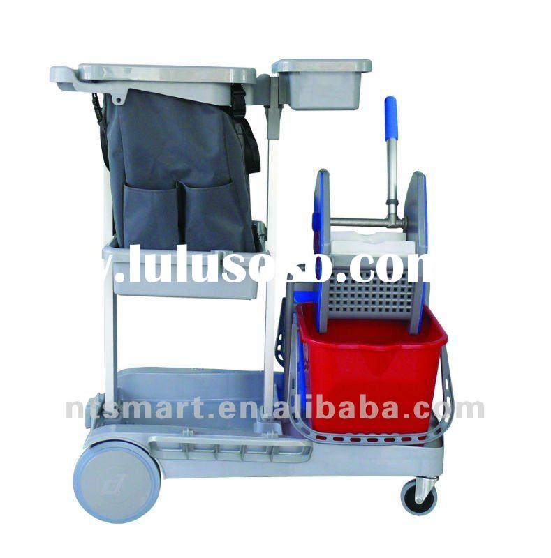 Hotel cleaning trolly,hotel cleaning cart ,hotel supplies