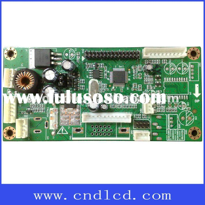 LCD circuit baod for PC or lcd monitors or AD machine,digital photo frame.PC board is mainly used to