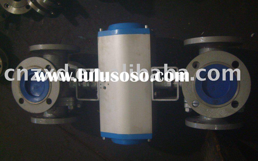 MULTIPORT BALL VALVE 4- WAY BALL VALVE