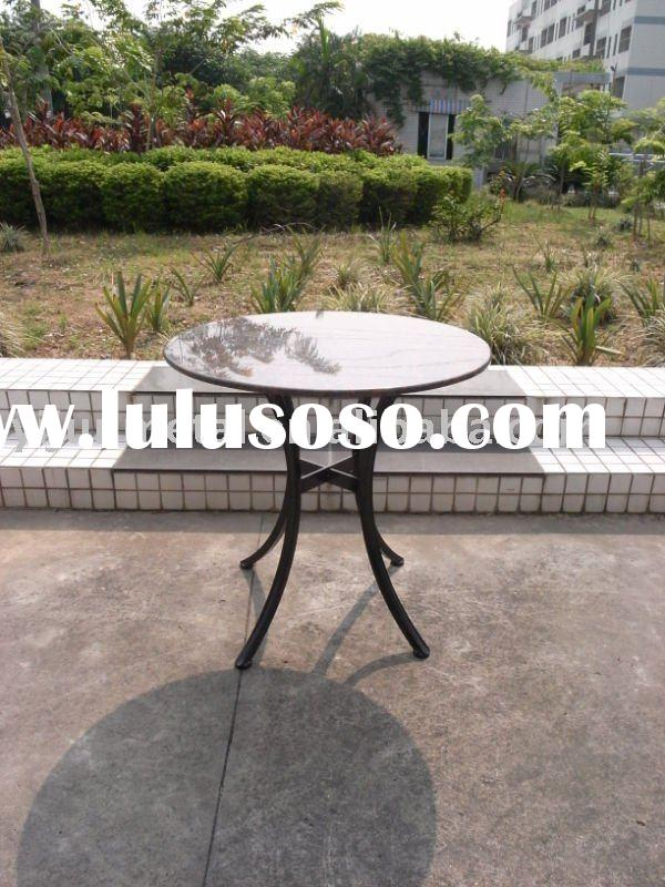 Marble top outdoor furniture