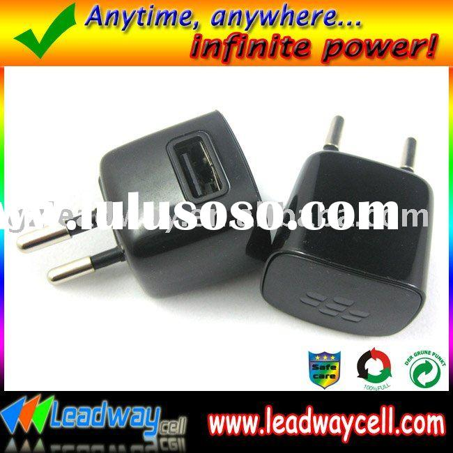 Mobile phone Mini USB charger for blackberry,travel charger.(include 1 USB charging cable)