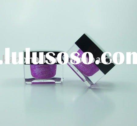 Nail Color Gel in Glass Jar, Available in Various Colors
