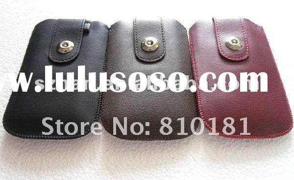 New Leather Case Belt Clip Pouch + LCD Film for Samsung Galaxy S II i9100