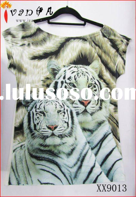 Newest Hot sale Fashion Plain T-shirts Printing