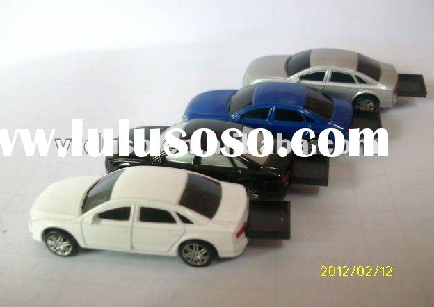 OEM Branded car model usb flash drive, car shaped pen drive, car model usb disk with logo print, giv