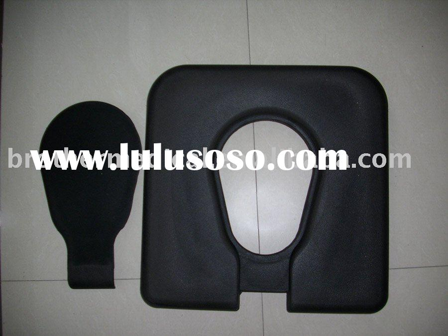 PU Toilet Seat for Wheelchair Commode Chair and Shower Chair