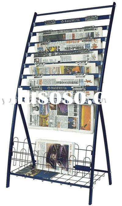 Plastic Spray Newspaper Stand