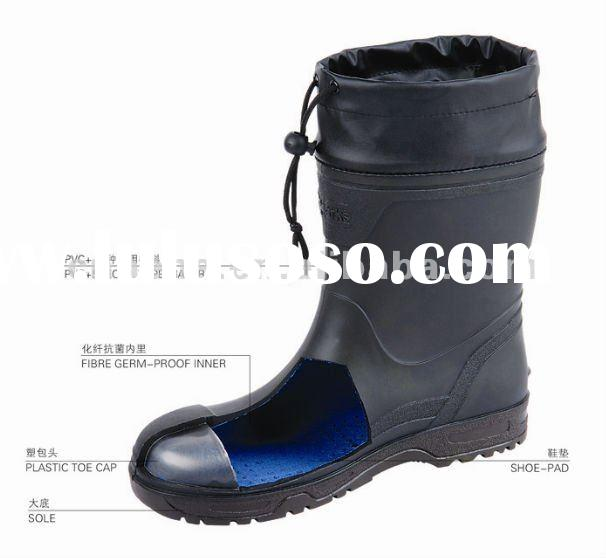 Plastic Toe Caps safety Boots/shoes(factory price)