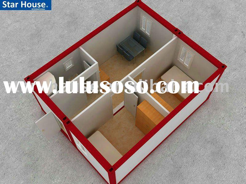 Portable house accommodation container