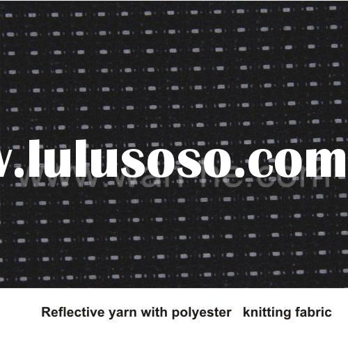 REFLECTIVE YARN WITH POLYESTER KNITTING FABRIC W076-7001