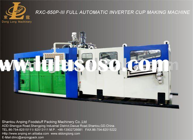 RXC-650P-III Plastic Plates and Cups Making Machine