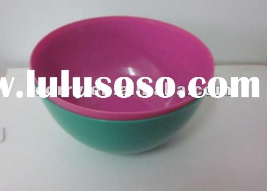 Round & ordinary plastic Dip Sause bowls with different colour