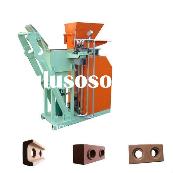 SY1-25 Eco brava interlcoking clay block making machine