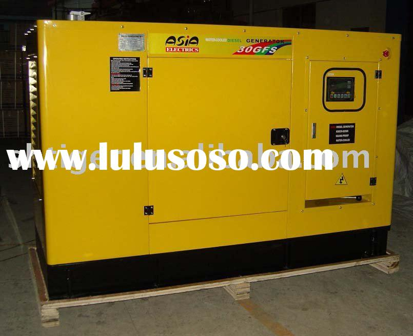Sell 10-660kw Water-Cooled Silent Diesel Generator Set