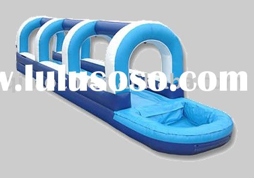 Single Lane Slip & Dip( inflatable water slide)